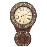 Baird Coffee Syrup Advertising Clock