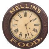 Unusual Baird Advertising Oak Wall Clock