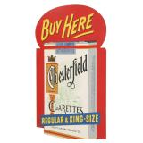 Chesterfield Cigarettes Advertising Flange Sign