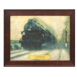 Sunshine Special Locomotive Advertising Print
