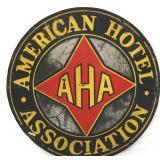 American Hotel Association Member Sign