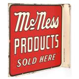 McNess Food Products Flange Sign