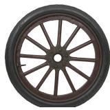 30 in. Firestone Non-Skid Tire