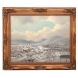 Albert Nemethy O/C Winter Landscape