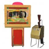 Seeburg Shoot The Bear Arcade Game