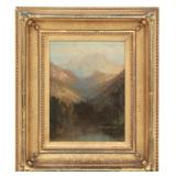 19th Century O/C Hudson River School Painting