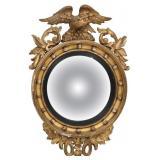 Federal Gilt Carved Girandole Mirror
