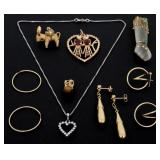 8 Pcs. Estate Jewelery