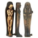 After Franz Bergman Erotic Sarcophagus Bronze