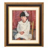 Jori Smith O/C Portrait Of A Girl