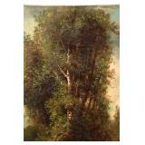 """Signed """"J. Willis"""" O/C Landscape"""
