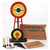Vintage Marx Swinging Target Game