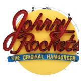 Large Johnny Rockets Neon Advertising Sign