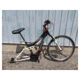 MENS BLACK IRONHORSE MOUNTAIN BIKE (MISSING BACK W