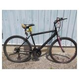MENS BLACK MOUNTAIN BIKE