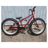 MENS RED MONGOOSE BIKE