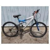 MENS GREY SUPERCYCLE MOUNTAIN BIKE