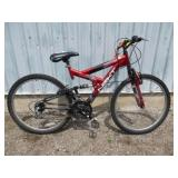 MENS RED NEXT MOUNTAIN BIKE