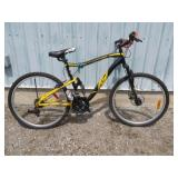 MENS BLACK CCM MOUNTAIN BIKE