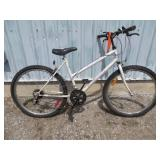 LADIES WHITE SUPERCYCLE MOUNTAIN BIKE