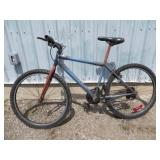 MENS GREY HUFFY MOUNTAIN BIKE