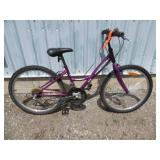 LADIES PURPLE SUPERCYCLE MOUNTAIN BIKE
