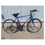 MENS BLUE KUWAHARA MOUNTAIN BIKE
