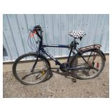 MENS BLUE TRIUMPH MOUNTAIN BIKE