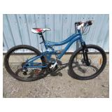 MENS BLUE MOUNTAIN BIKE