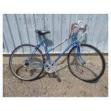 LADIES BLUE RALEIGH BIKE