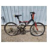 MENS BLACK NAKAMURA MOUNTAIN BIKE