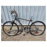 MENS GREY MILLENNIUM MOUNTAIN  BIKE (NO SEAT)