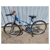 LADIES BLUE MAGNA MOUNTAIN BIKE