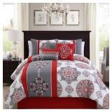 Queen Sz Elight Home Comforter Set