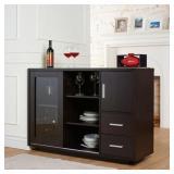 Buffet Furniture Of America Idi-14990 Red Cocoa