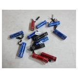 12 Mini Flashlights - Untested Need Batteries