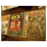 2 Sick    & 1 Cracked Magazine