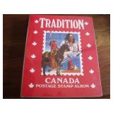 Tradition Canada Postage Stamp Album