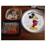 "Walt Disney Tin Tray  MICKIE Mouse  11"""