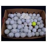 Tray of Golf Balls