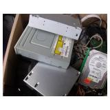 Box Lot of Computer Parts