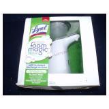 Lysol Foam magic