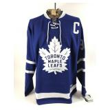 Autographed Doug Gilmour Jersey With COA