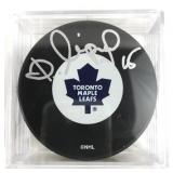 Autographed Dmitri Mironov Puck