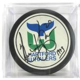 Signed Nick Kypreos Hockey Puck