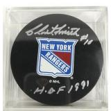 Signed Clint Smith Puck