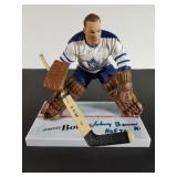 Johnny Bower Autographed Mcfarlane Toy