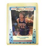 1989 Fleer Tom Chambers All Star Card #11