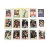15 Assorted NBA Trading Cards