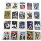 20 Assorted 1980-90 MLB Trading Cards